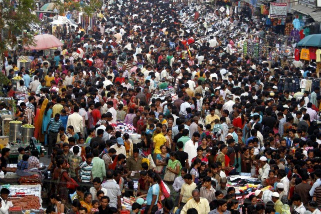 hindistan kalabalık